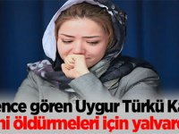 """İşkence gören Uygur Türkü Kadın """"Beni öldürmeleri için yalvardım"""""""