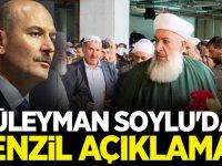 Süleyman Soylu'dan Yeni 'Menzil Cemaati' açıklama!