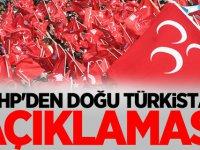 MHP'den Doğu Türkistan açıklaması