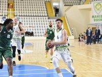 Manisa Belediyespor Basket Takımı Galip Gelmeyi Başardı