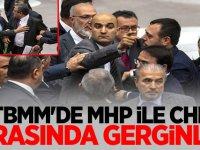 TBMM'de MHP ile CHP Milletvekilleri Arasında Gerginlik