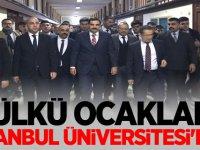 Ülkü Ocakları Genel Başkanı Sinan Ateş: İstanbul Üniversitesi'nde