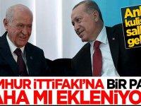 Ankara kulislerini sallayan gelişme! Cumhur İttifakı'na bir parti daha mı ekleniyor?