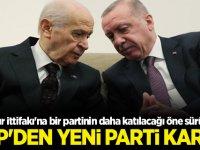 Cumhur İttifakı'na bir partinin daha katılacağı öne sürülmüştü! MHP yeni parti konusunda kararını verdi