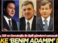 Ali Babacan, Abdullah Gül ve Ahmet Davutoğlu ile ilgili gündemi sarsacak sözler: O ülke benim adamım dedi