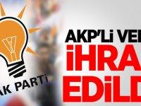 AKP'li vekil ihraç edildi