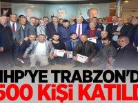MHP'ye Trabzon'da 1500 kişi katıldı