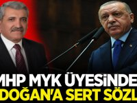 MHP MYK üyesinden Erdoğan'a sert sözler