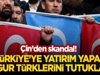 Çin'den skandal! Türkiye'ye yatırım yapan Uygur Türklerini Tutuklandı