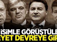 Heyet devreye girdi... Erdoğan, Gül, Davutoğlu ve Babacan'la görüştüler!