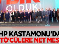 MHP Kastamonu'dan FETÖ'cülere Net mesaj