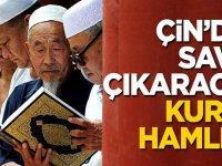 Çin yönetiminden savaş çıkaracak Kur'an-ı Kerim hamlesi!