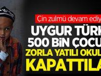 Çin'in hedefinde Uygur Türkü çocuklar var!