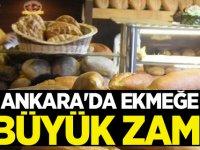 Ankara'da Ekmeğe Yeni Yıl Zammı
