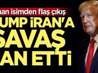 ABD'li uzman: Trump İran'a savaş ilan etti