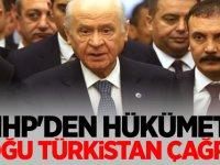 MHP'den Hükümete Doğu Türkistan Çağrısı