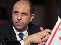 KKTC Dışişleri Bakanı Özersay Cumhurbaşkanı adaylığını açıkladı