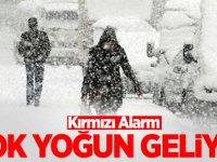 Meteoroloji peş peşe uyardı: Meteoroloji Kar Alarmı Verdi