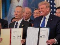 ABD ile Çin imzaları attı