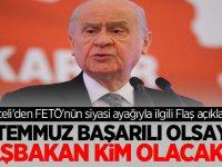Devlet Bahçeli'den FETÖ'nün siyasi ayağıyla ilgili Yeni Açıklama!