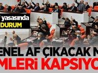 Af ne zaman çıkacak? Kimler tahliye olacak ceza infaz indirimi son dakika açıklaması