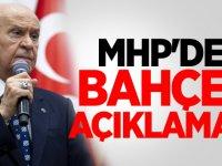 MHP'den Flaş Devlet Bahçeli Açıklaması