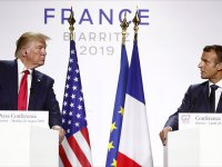 Macron ve Trump internet devlerine uygulanan vergi konusunda anlaşma yolunda