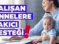 Çalışan annelere müjde! 650 lira kreş yardımı! İşte başvuru şartları ve detayları...