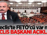 Meclis'te FETÖ'cü var mı? Meclis Başkanı açıkladı