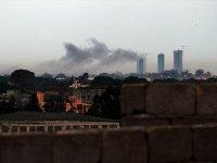 Hafter güçleri Trablus'taki Mitiga Havalimanı'nı grad füzeleriyle vurdu