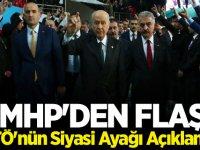 MHP'den FETÖ'nün siyasi ayağı açıklaması