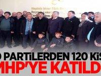 O Partilerden 120 Kişi MHP'ye katıldı