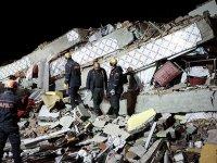 Elazığ depreminin ürküten sesi paylaşıldı