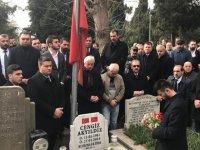 Ülkücü Şehit Cengiz Akyıldız Mezarı Başında Dualarla Anıldı