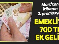 2020 Emekliye 700 TL promosyon ödemeleri ne kadar?