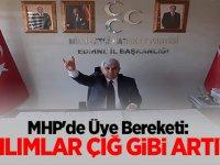 MHP'de Üye Bereketi: Katılımlar Çığ Gibi Artıyor