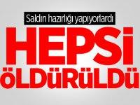 Türk jetleri vurdu! Çok sayıda terörist öldürüldü