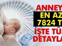 2020 Çalışan Anneye En Az 7824 TL!