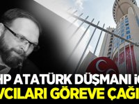 MHP 'Atatürk Düşmanı Fatih Tezcan' için Savcıları göreve çağırdı
