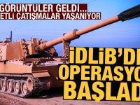 AA son dakika olarak duyurdu! İdlib'de operasyon başlattılar: Şiddetli çatışmalar