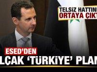 Esed'den kirli 'Türkiye' planı! Telsiz hattında ortaya çıktı