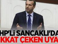 MHP'li Saffet Sancaklı'dan dikkat çeken uyarı!