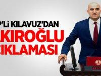 MHP'li Olcay Kılavuz'dan Fırat Çakıroğlu açıklaması