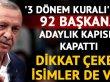 AK Parti'de hangi belediye başkanları aday gösterilmeyecek? İşte o isimler