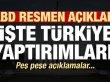 ABD resmen duyurdu! İşte Türkiye yaptırımları...