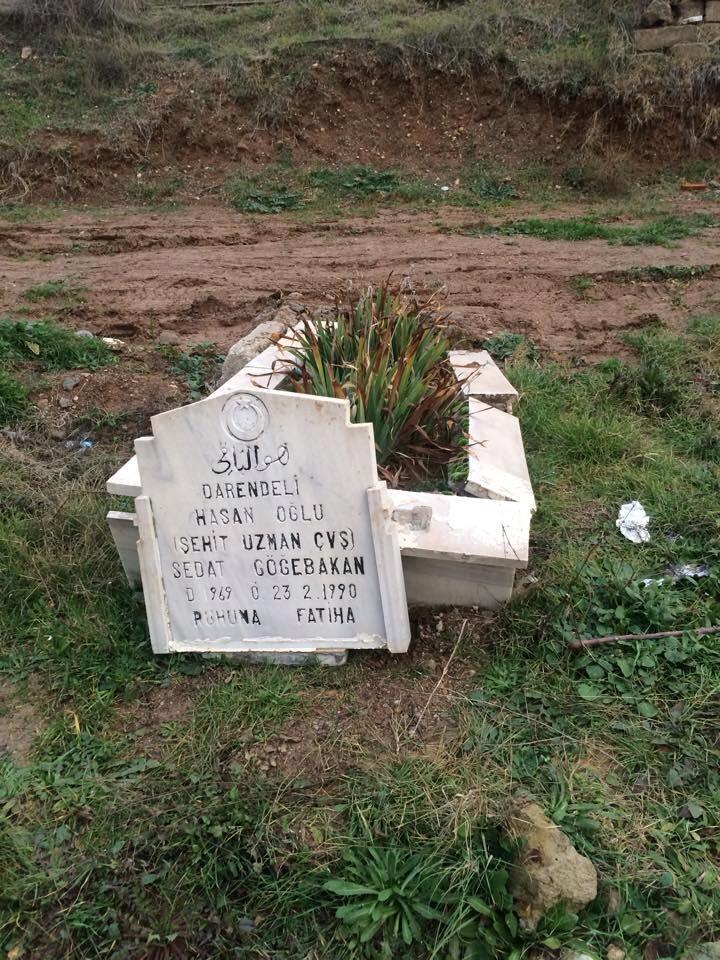 kırakkale ülkü ocakları mezar tahribi 1