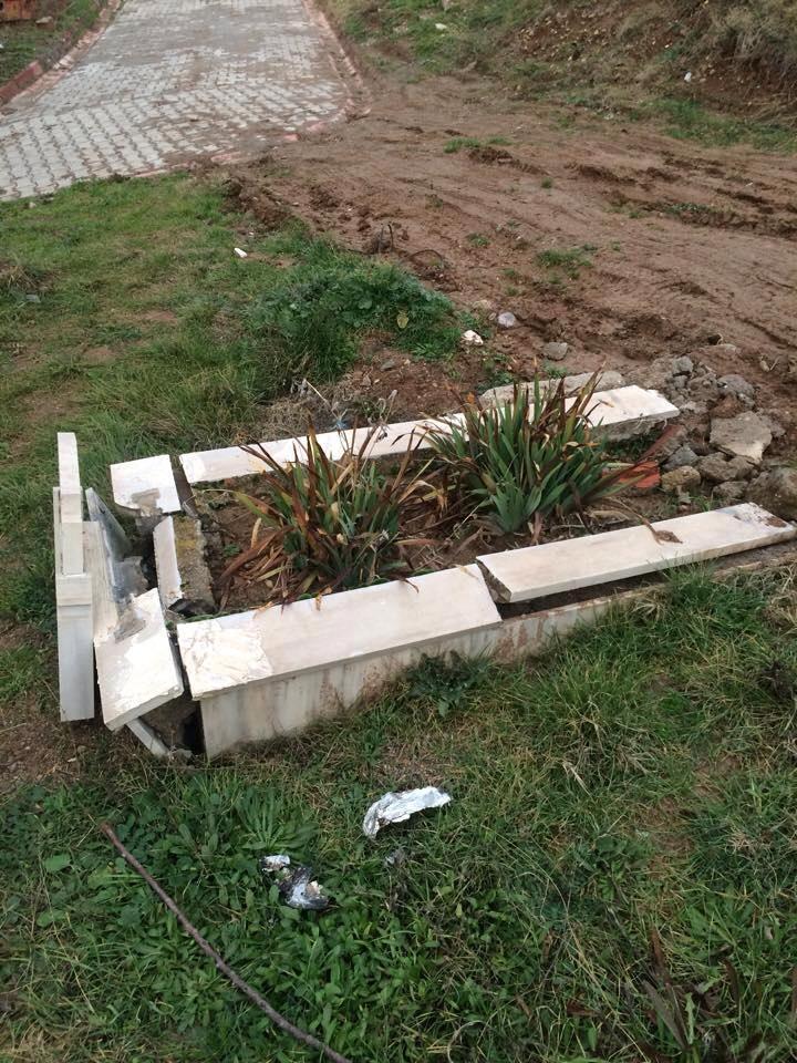kırakkale ülkü ocakları mezar tahribi 2