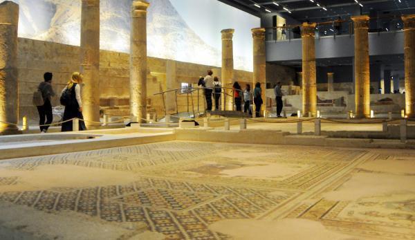 Zeugma Mozaik Müzesi'ne Büyük İlgi