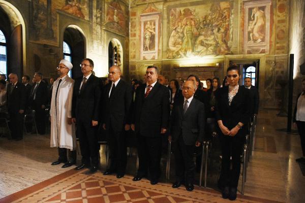 ASALA'nın Şehit Ettiği Büyükelçi Taha Carım Roma'da Anıldı