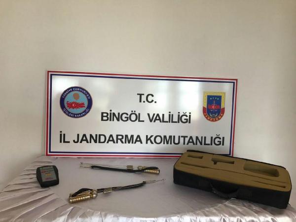 Kaçak Kazıya Jandarmadan Suçüstü: 7 Gözaltı